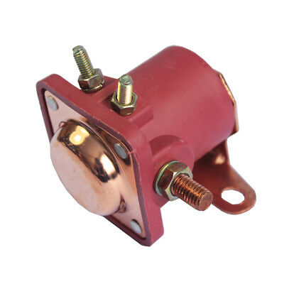 New 12V Heavy Duty Solenoid Relay Red Fits For Ford Starter Car Truck SW3 SNL135 8
