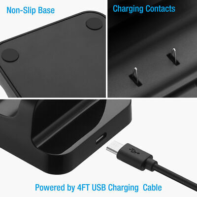 For XBOX ONE Dual Charging Dock Station Controller Charger Rechargeable Battery 10
