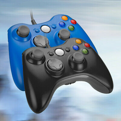 Wired / Wireless Game Controller Gamepad for Microsoft XBOX 360 & PC WIN 7 8 10 10