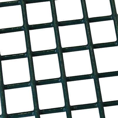 WELDED WIRE MESH Panel 3\'x6\' Green PVC Coated 0.9x1.8m Sheet Fence ...