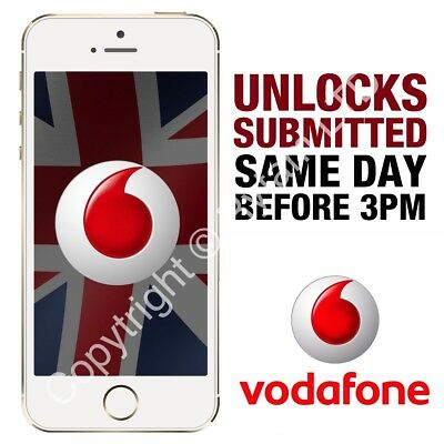 Unlocking Service For Apple iPhone 7 / 7 Plus VODAFONE UK - IMEI ONLY