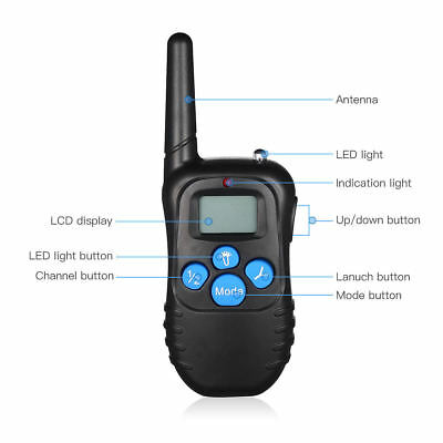 Dog Shock Collar With Remote Waterproof Electric for Large 880 Yard Pet Training 7