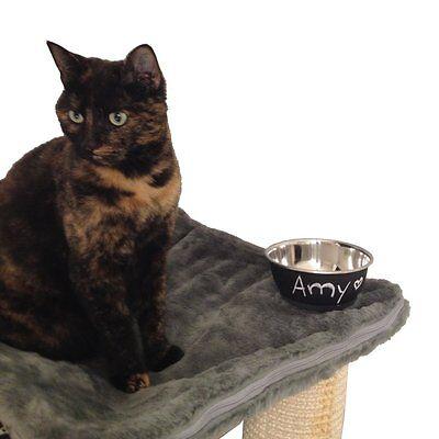 Karlie - beschreibbarer Futternapf  für Hunde und Katzen - Edelstahl Napf