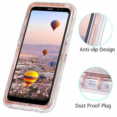 Samsung Galaxy S9 Plus Liquid Glitter Quicksand Protective Shockproof Case Cover 3