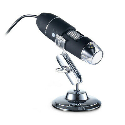 Microscopio Digitale 1600X 8 Led Usb Zoom Portatile Lente Ingrandimento Sc0 4