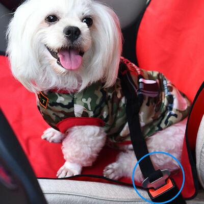 2 Pack Cat Dog Pet Safety Seatbelt for Car Seat Belt Adjustable Harness Lead 5