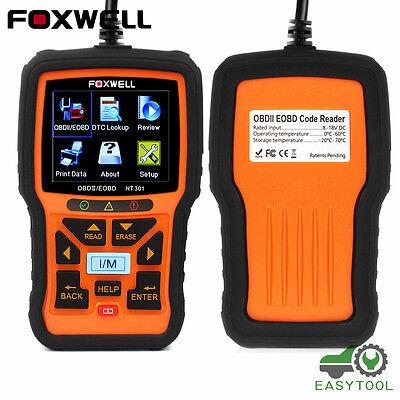 Foxwell NT301 OBD OBD2 Engine Universal Car Code Reader Scanner Diagnostic Tool 3
