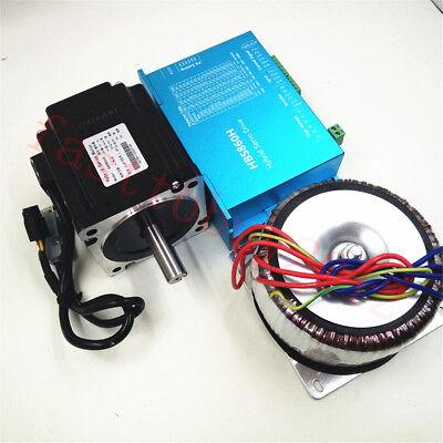 Nema34/Nema23 2.2NM -12NM DSP Closed Loop Stepper Drive+Motor+Power DC36V AC60V 8