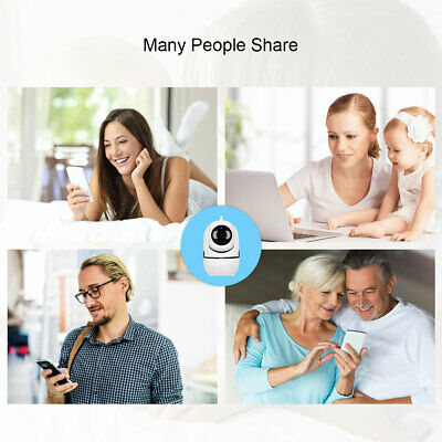 1080P HD Smart Home Wireless Security IP Camera Wi-Fi IR Night Baby Monitor CCTV 7
