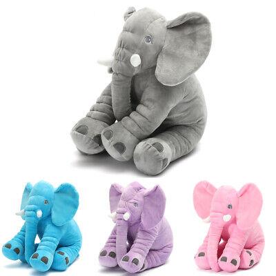 🔥Stuffed Animal Cushion Kids Baby Sleeping Soft Pillow Toy Cute Elephant USA 🔥 3