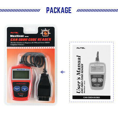 Autel MS309 OBD2 Check Engine Light Code Reader Auto Car Diagnostic Scanner Tool 11