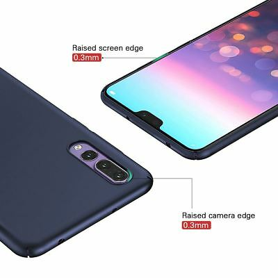 2 sur 12 Luxury Protective Slim Thin Hard Back Case Cover For Huawei P20 Pro P10