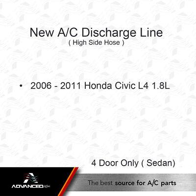 1999 Jeep Wrangler L6 4.0L 4.0 New A//C Discharge Line Fits