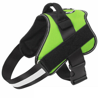 Non Pull Dog Harness Outdoor Adventure Pet Vest Padded Handle Small Medium Large 11