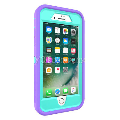 iPhone 7 8 Plus 6S XS Max XR XS X Case Cover Protective Hybrid Rugged Shockproof 4