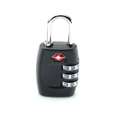 TSA  Luggage Locks 3 Digit Combination Steel Padlocks Approved Travel Lock 2