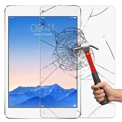 2X Screen Protector Tempered Glass for Apple iPad ALL MODEL Ultra Clear Premium 9