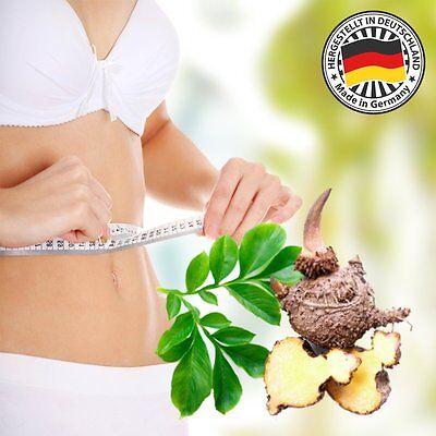 Lumaar WellFit Fatburner Kapseln 100% natürlich Glucomannan - 3000 mg Werbung