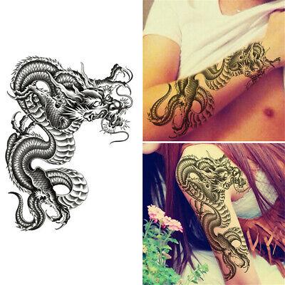 Piraten schädel abnehmbare wasserdichte temporäre Tattoo Paste Körper Arm BeWK