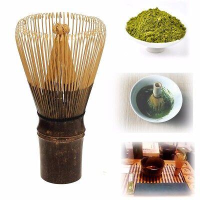 110 Prongs Tea Whisk Natural Bamboo Japan Matcha Green Powder Chasen Brush Tools 3