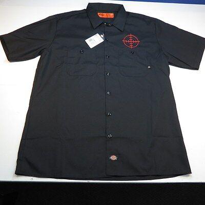 Dickies Dickies embroidery custom model work shirt UD574-40S3-61S3 ( men /  tops / work shirt / long sleeve / embroidery / skull )