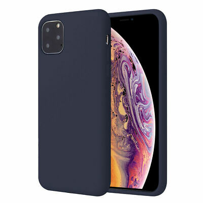 Silicone Case For iPhone 7 8 Plus X XS 11 Pro Max Full Protection Soft TPU Cover 11