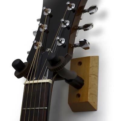 2 x Guitar Wall Mount Hanger Hook Bracket Holder Stand Acoustic Bass Electric 3