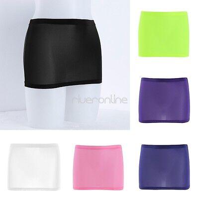Damen Lingerie Sheer Mini Rock Skirt Kurze Röcke Party Nightwear Clubwear Sexy 4