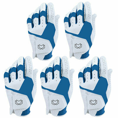 WFX Mens All Weather Soft Golf Gloves Leather Palm UA CoolSwitch 8