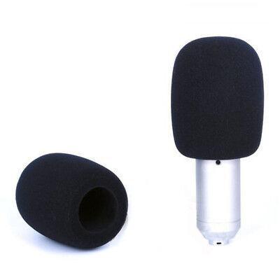 Pop Filter Windscreen Microphone Sponge Foam Cover For Blue Yeti Pro Mic Black 6
