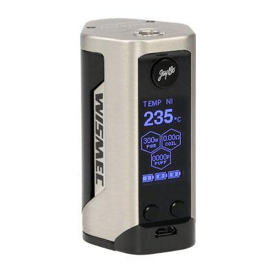 WISMEC Reuleaux GEN3 RX Akkuträger 300 Watt - Box Mod E-Zigarette Akku E-Liquid 12