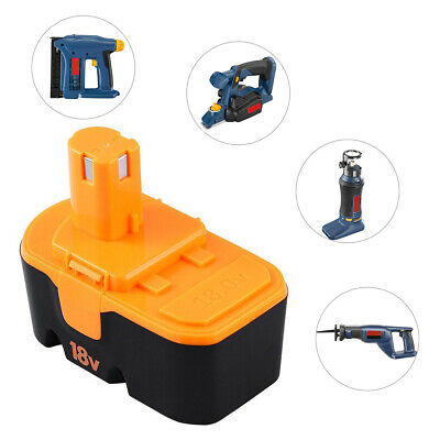 18v 3.0Ah Replace for Ryobi Battery ONE+ P100 P101 1322401 1400672 13022 ABP1801 7