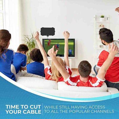 2019 Newest Hdtv Antenna Best 980 Mile Long Range Lesoom Indoor Tv Digital Hq 4K 7