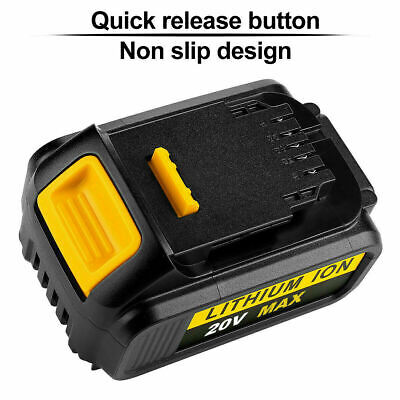 Replace Dewalt DCB182 DCB184 18V 5.0Ah XR Li-Ion Battery To Fit DCB181 DCD780 UK 12