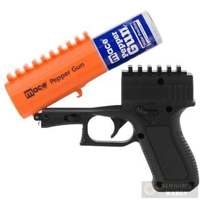MACE Pepper GUN 2.0 20ft. Defense SPRAY Strobe LED 80406 FAST SHIP 3