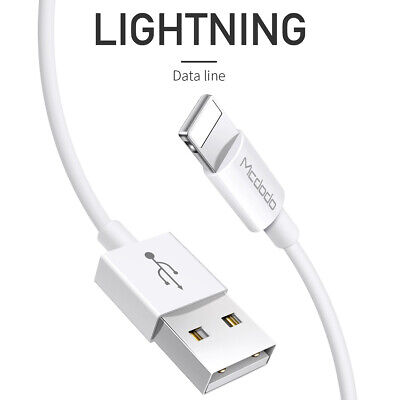 Mcdodo Apple MFI Certified Lightning USB Sync Data Cord Cable iPhone 8 7 XS Max 5