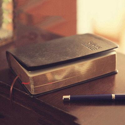 Diario de Viaje Cuero PU Bloc de Notas Cuaderno de Cuero Retro Anclaje Libreta + 2