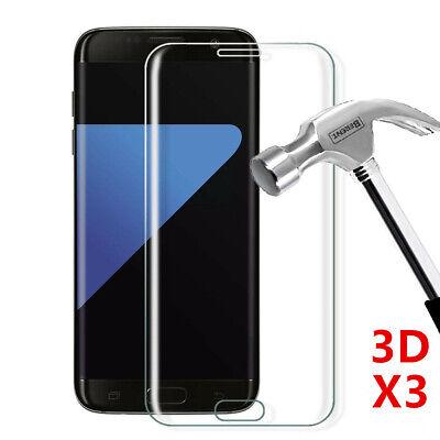 Vitre Film Protection Écran Verre Trempé Intégral 3D Samsung Note 9 8 S8 S9 S10 5