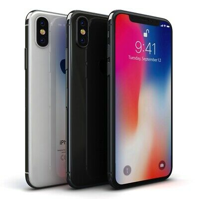 Apple iPhone X (iPhone 10) 64GB 256GB Silver Space Grey Unlocked Sim Smartphone 2