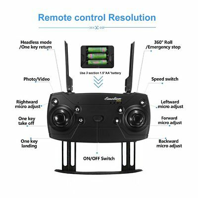 Drone X PRO Quadcopter with CASE UPGRADED Edition Selfie HD Camera WIFI Drone 9