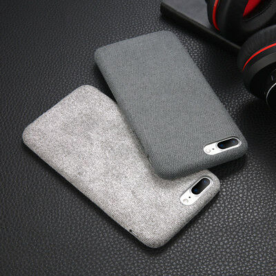 For iPhone XS Max XR X 6s 7 8 Plus Warm Fabric Soft Shockproof Matte Cover Case 7