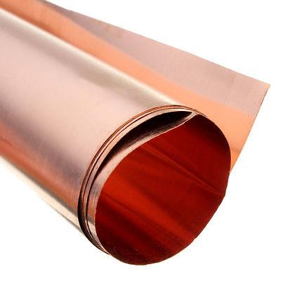1pc 99.9/% Pure Copper Cu Metal Sheet Foil 0.5 x 200 x 300 mm #E3-05  GY