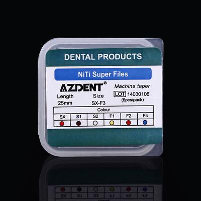 10X Dental 25mm Endodontic Engine Use NiTi Super Rotary Files AZDENT 5