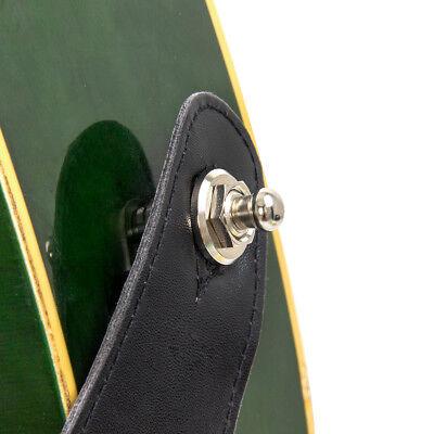 1 Pc Strap Lock Button Schaller Style for Guitar Bass Parts Round Head Chrome 6