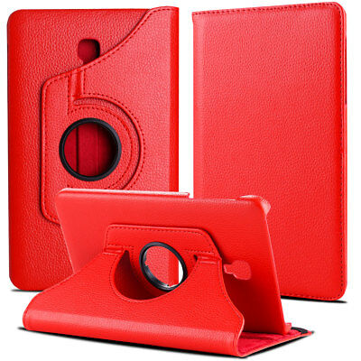 Folio Rotating Leather Case Cover For Samsung Galaxy Tab A 8.0 SM-T380 T387 T350 11