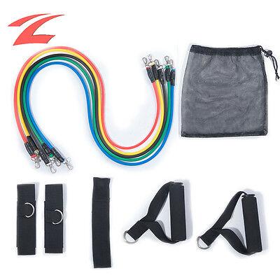 Fitnessbänder Expander-Set Fitness Tube Gymnastikband Yoga Latexband Fitnessband