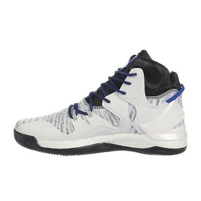 bb0c2d66e45 ... Adidas D Rose 7 Boost VII drose mens white basketball shoes NEW Adidas  B72720 3