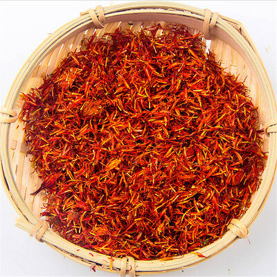 Tibet Dry Saffron Flower Natural Pure Spice Kasubha Health Herbal 10/20/50/100g