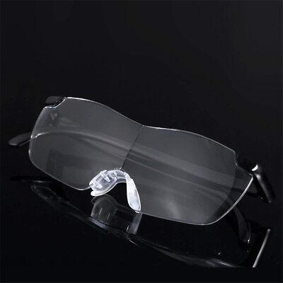 160% Vergrößerungsbrille Lupenbrille Zauberbrille Brille Lupe Vergrößerung Etui 5