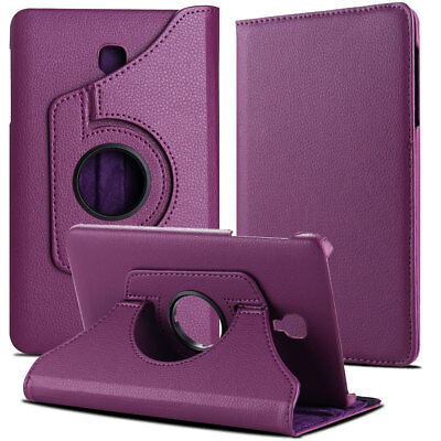 Folio Rotating Leather Case Cover For Samsung Galaxy Tab A 8.0 SM-T380 T387 T350 10